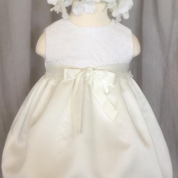 27ddff418 Boutique Dresses | Ivory White Chantilly Lace Baby Dress | Poshmark